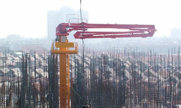 HG33C-3R, Concrete placing boom