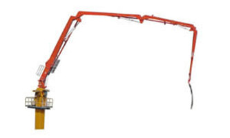 HG35G-4R, Concrete placing boom