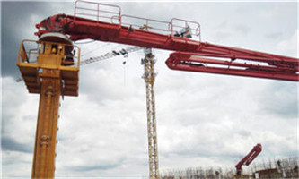 HG32C-4R, Concrete placing boom