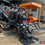 Horizontal directional drilling machine structure  04-Vise and anchor structure
