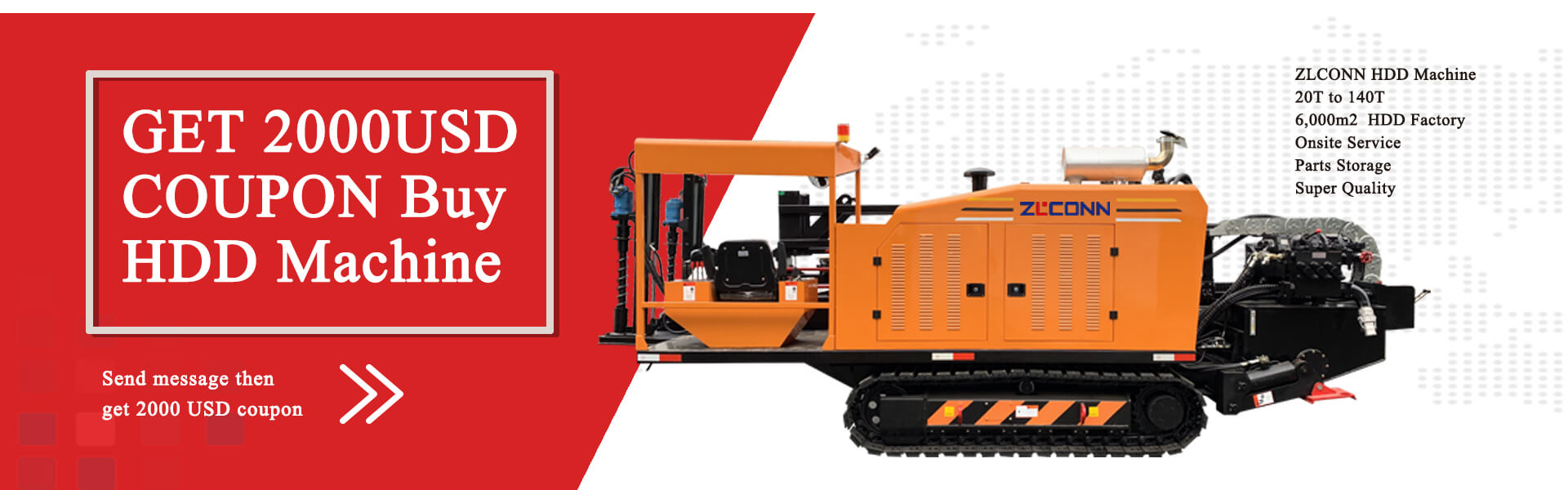 ZLCONN HORIZONTAL DIRECTIONAL DRILLING MACHINE BIG SALE NOW