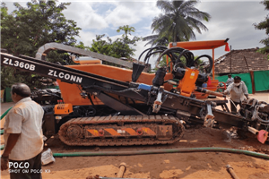 ZLCONN ZL360B 38T Horizontal Directional Drilling  230m 300mm Soft Rock  Hard Soil Conditions
