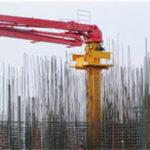 HG32E-3R Stationary placing boom