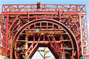 LanXin-Railed Tunnel Formwork System