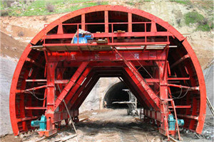 Tajikistan Dushanbe-Khorog – Road Tunnel Formwork System