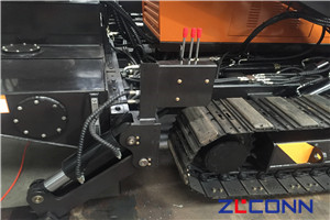 horizontal directional drilling machine structure 01-chassis structure